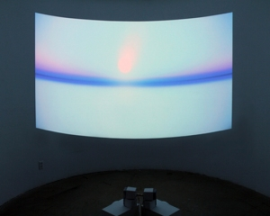 Heliocentrism by Phillip Stearns, Video Projection 2013
